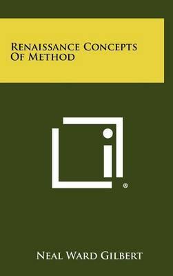 Renaissance Concepts of Method