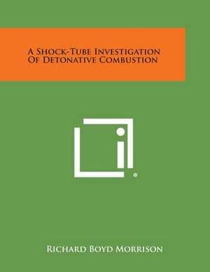 A Shock-Tube Investigation of Detonative Combustion