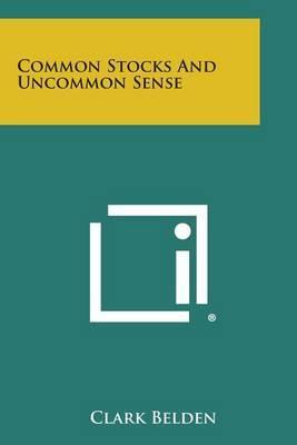 Common Stocks and Uncommon Sense