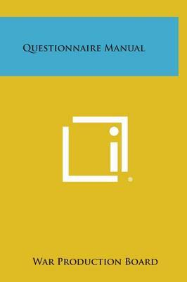 Questionnaire Manual