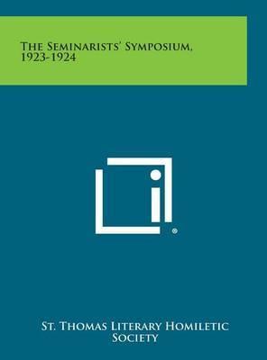 The Seminarists' Symposium, 1923-1924