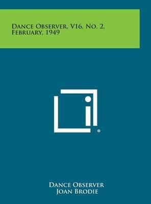Dance Observer, V16, No. 2, February, 1949