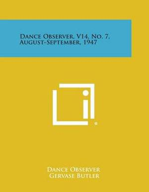 Dance Observer, V14, No. 7, August-September, 1947