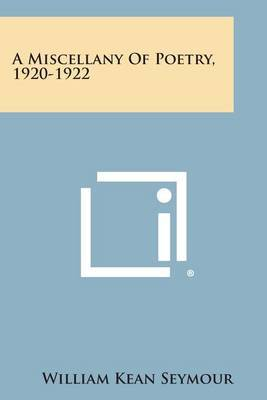 A Miscellany of Poetry, 1920-1922