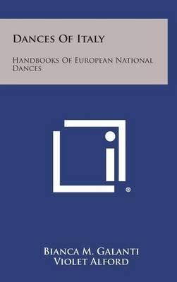 Dances of Italy: Handbooks of European National Dances