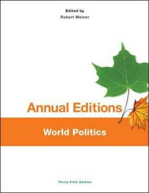 Annual Editions: World Politics, 35/e