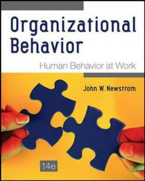 Organizational Behavior: Human Behavior at Work (Int'l Ed)