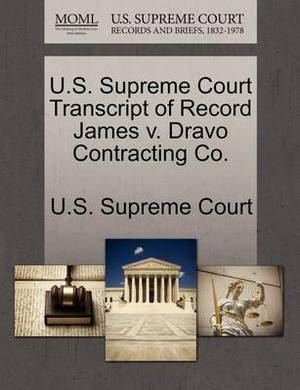 U.S. Supreme Court Transcript of Record James V. Dravo Contracting Co.