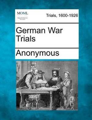 German War Trials