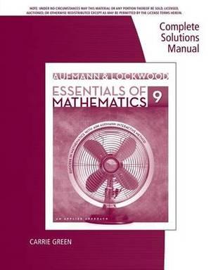 CSM for Essentials of Mathemat