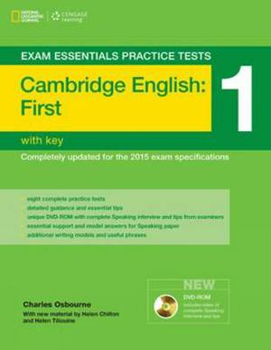 Exam Essentials Cambridge First Practice Test 1 with Key (2015 exam)