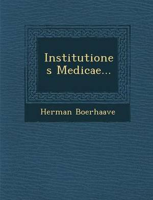 Institutiones Medicae...