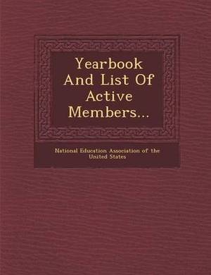 Yearbook and List of Active Members...