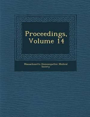 Proceedings, Volume 14