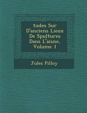Tudes Sur D'Anciens Lieux de S Pultures Dans L'Aisne, Volume 1