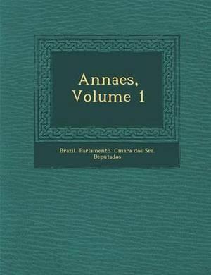 Annaes, Volume 1