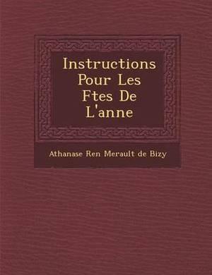 Instructions Pour Les F Tes de L'Ann E