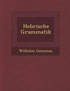 Hebr Ische Grammatik