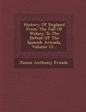History of England from the Fall of Wolsey to the Defeat of the Spanish Armada, Volume 11...