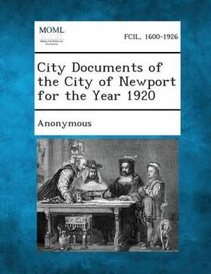 City Documents of the City of Newport for the Year 1920