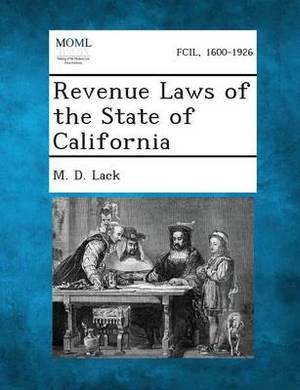 Revenue Laws of the State of California
