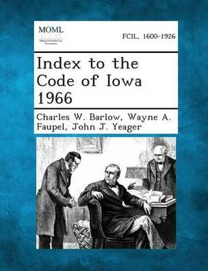 Index to the Code of Iowa 1966