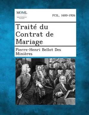 Traite Du Contrat de Mariage