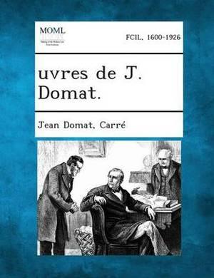 Uvres de J. Domat