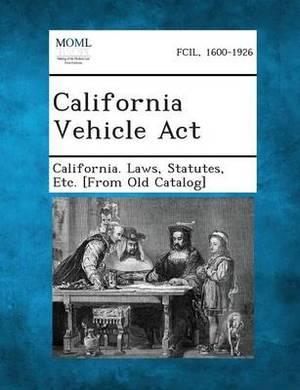 California Vehicle ACT
