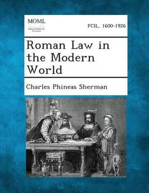 Roman Law in the Modern World