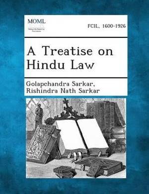 A Treatise on Hindu Law