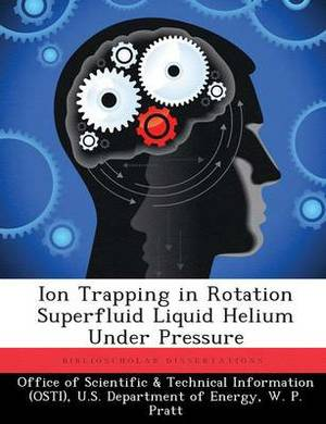 Ion Trapping in Rotation Superfluid Liquid Helium Under Pressure