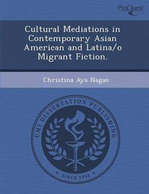 Cultural Mediations in Contemporary Asian American and Latina/O Migrant Fiction