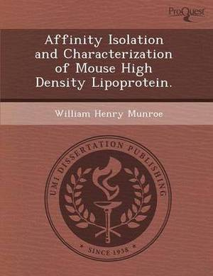 Affinity Isolation and Characterization of Mouse High Density Lipoprotein