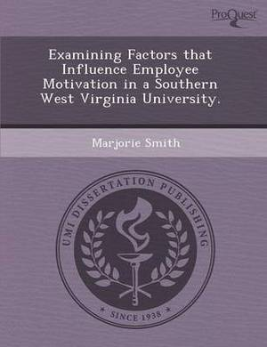 Examining Factors That Influence Employee Motivation in a Southern West Virginia University