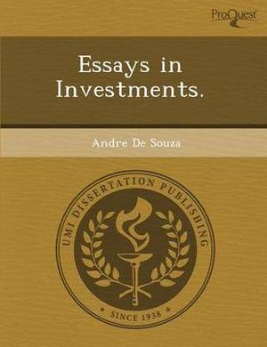 Essays in Investments