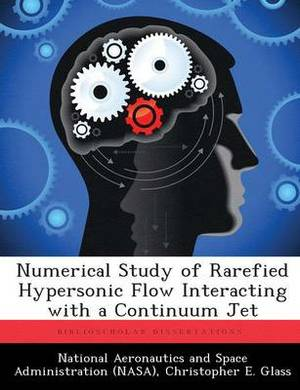 Numerical Study of Rarefied Hypersonic Flow Interacting with a Continuum Jet