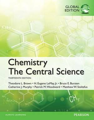 NEW MasteringChemistry -- Standalone Access Card -- for Chemistry: The Central Science, Global Edition
