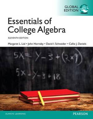 Essentials of College Algebra OLP with Etext