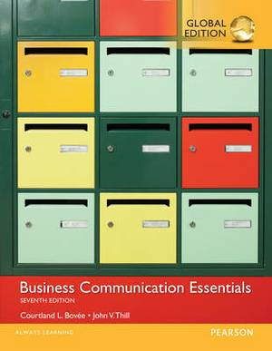 Business Communication Essentials with MyBCommLab