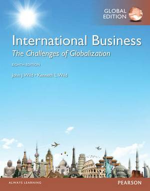 International Business: The Challenges of Globalization with Mymanagementlab