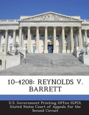 10-4208: Reynolds V. Barrett