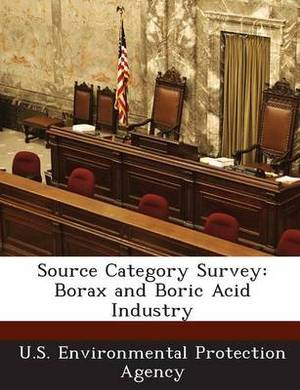 Source Category Survey: Borax and Boric Acid Industry