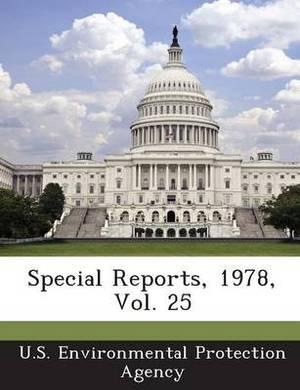 Special Reports, 1978, Vol. 25