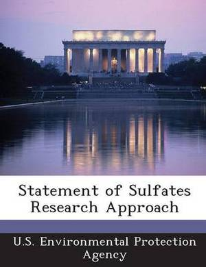 Statement of Sulfates Research Approach