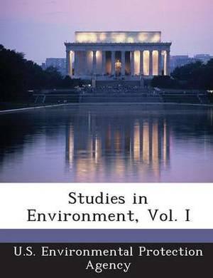 Studies in Environment, Vol. I