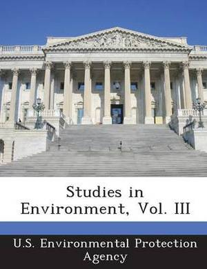 Studies in Environment, Vol. III