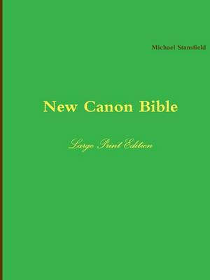 New Canon Bible Large Print Edition