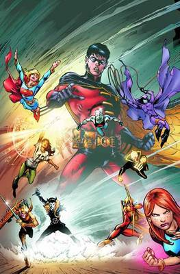 Teen Titans Changing of the Guard