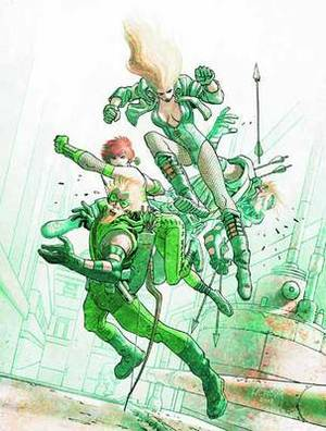 Green Arrow Black Canary Five Stages